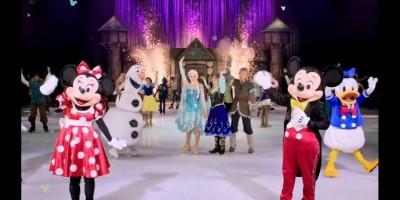 Personagens da Disney se apresentarão no espetáculo 'Disney On Ice' em 2020