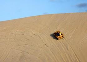 Passeio de Buggy em Natal: as dunas de Genipabu