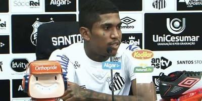 Filho de Raniel, do Santos, apresenta melhora após ser internado na UTI