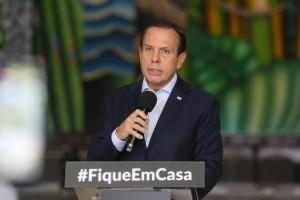 Doria elogia Mandetta após críticas de Bolsonaro ao ministro