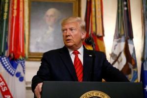 Trump reforça necessidade de isolamento: 'Fiquem em casa'