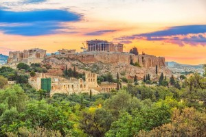 As belas paisagens da Grécia