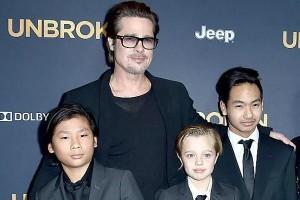 Brad Pitt faz festa e reúne os seis filhos após reconciliação com primogênito