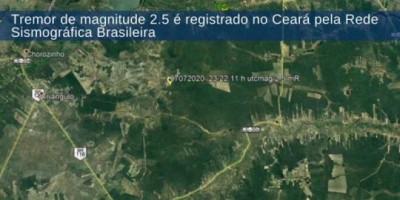 Tremor assusta moradores da região metropolitana de Fortaleza