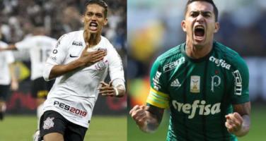 Antes protagonistas, Pedrinho e Dudu viram apenas torcedores na final do Paulista