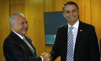 Bolsonaro diz que convidou Temer para chefe de missão brasileira no Líbano