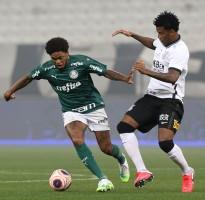 Corinthians e Palmeiras não saem do zero no 1º jogo da final do Paulistão