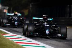 Hamilton dá o troco em Bottas e é o melhor do dia nos treinos livres na Itália