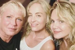 Xuxa, Angélica e Eliana comemoram reencontro: 'todo mundo tá feliz'