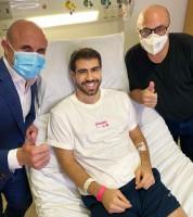 Juliano Laham faz cirurgia para retirada de tumor: 'Eu renasci'