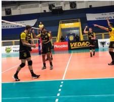 Paulista Masculino: EMS Taubaté Funvic segue forte e vence a primeira nas semifinais