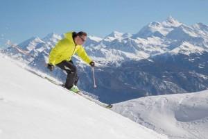 Guarda Golf reabre para a temporada de inverno nos Alpes Suíços