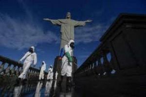 Primeira dose da vacina no Rio será aplicada nesta segunda-feira diante do Cristo