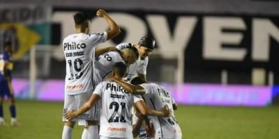 Santos atropela o Boca e faz final brasileira na Libertadores com o Palmeiras