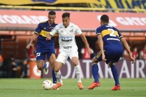 Santos e Boca empatam sem gols na Bombonera e deixam definição para a Vila