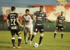 Corinthians bate Salgueiro em jogo sonolento e vai à 2ª fase da Copa do Brasil