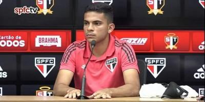 Bruno Rodrigues é apresentado no São Paulo: 'É um momento único'