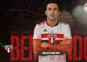 São Paulo oficializa chegada de Éder, ex-atacante da seleção italiana, por 2 anos