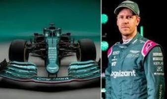 Sebastian Vettel se entusiasma com o carro da Aston Martin para temporada da F-1
