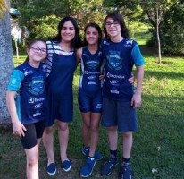 Mãe de três triatletas mirins é inspiração em Campinas