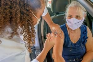 Mais de 36,8 mil doses de vacina anti-covid são aplicadas em Itatiba