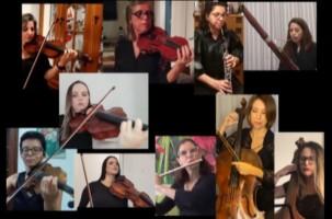 Orquestra Sinfônica homenageia Dia das Mães com vídeo de