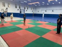 Alunos das escolinhas de esportes de Vinhedo retornaram às aulas presenciais nesta semana