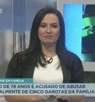 Apresentadora da Record TV no Ceará revela que foi abusada na infância