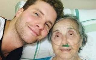 'Difícil lidar com esse sentimento', diz Thiago Fragoso sobre morte da avó