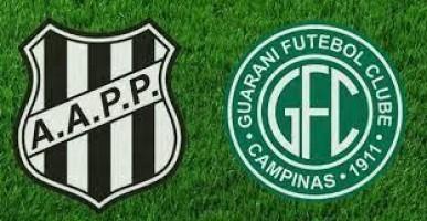 Pela Série B, Guarani e Ponte Preta fazem o dérbi de número 200