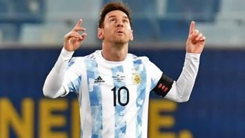 Craque da Copa América, Messi celebra 'tirar um peso das costas' com a Argentina