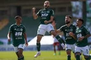 Guarani tem atuação de gala em Campinas, goleia Brusque e sobe para 8º na Série B