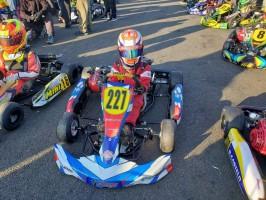 Lorenzo de Castro sobe ao pódio em sua 1ª participação na Copa SP Light de Kart 2021