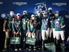 Na final da 4ª etapa do Longines XTC, os últimos da Olympiae foram os primeiros