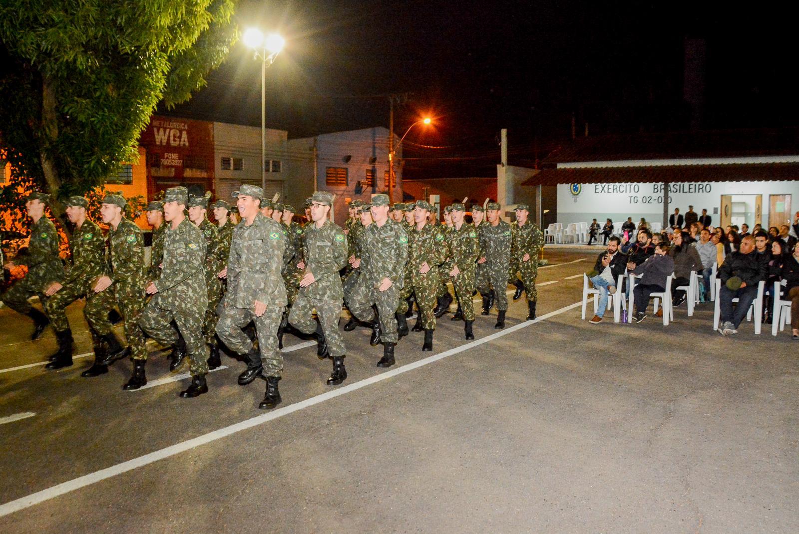 Chefe de Instrução convoca atiradores de todas as turmas para 'Desfile da Saudade'
