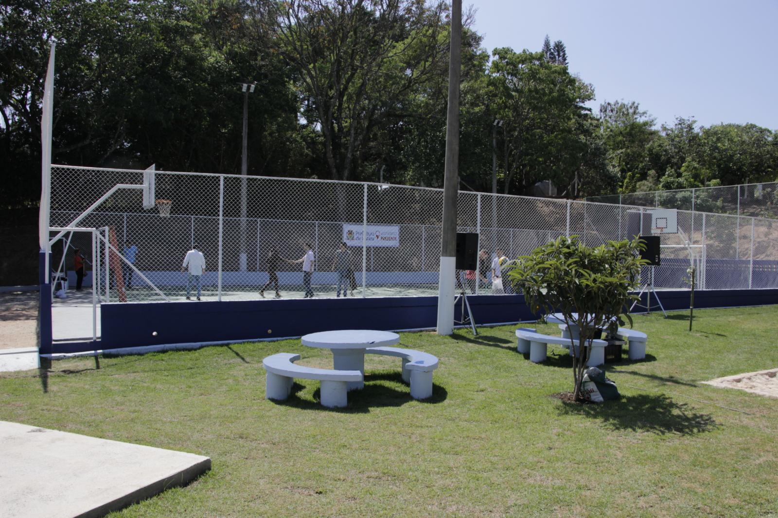 Prefeitura de Itatiba entrega área de lazer no Bairro Santo Antônio