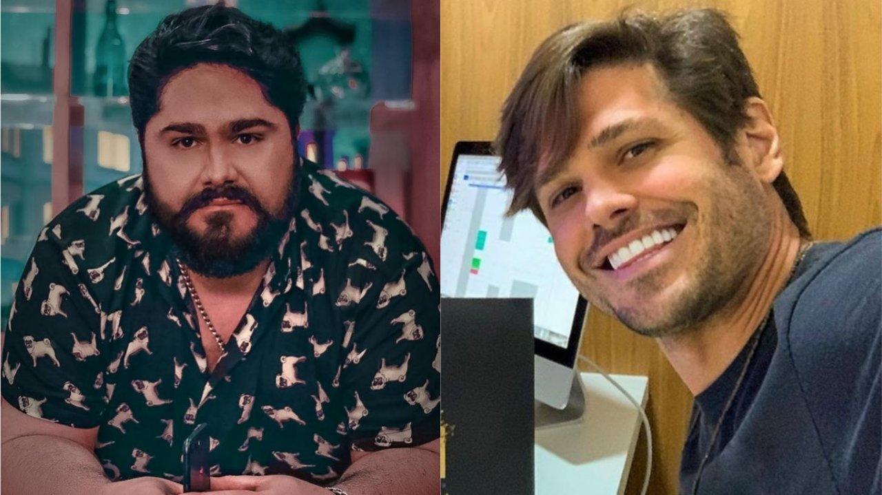 Cesar Menotti rebate críticas de Dado Dolabella a piada com bacon