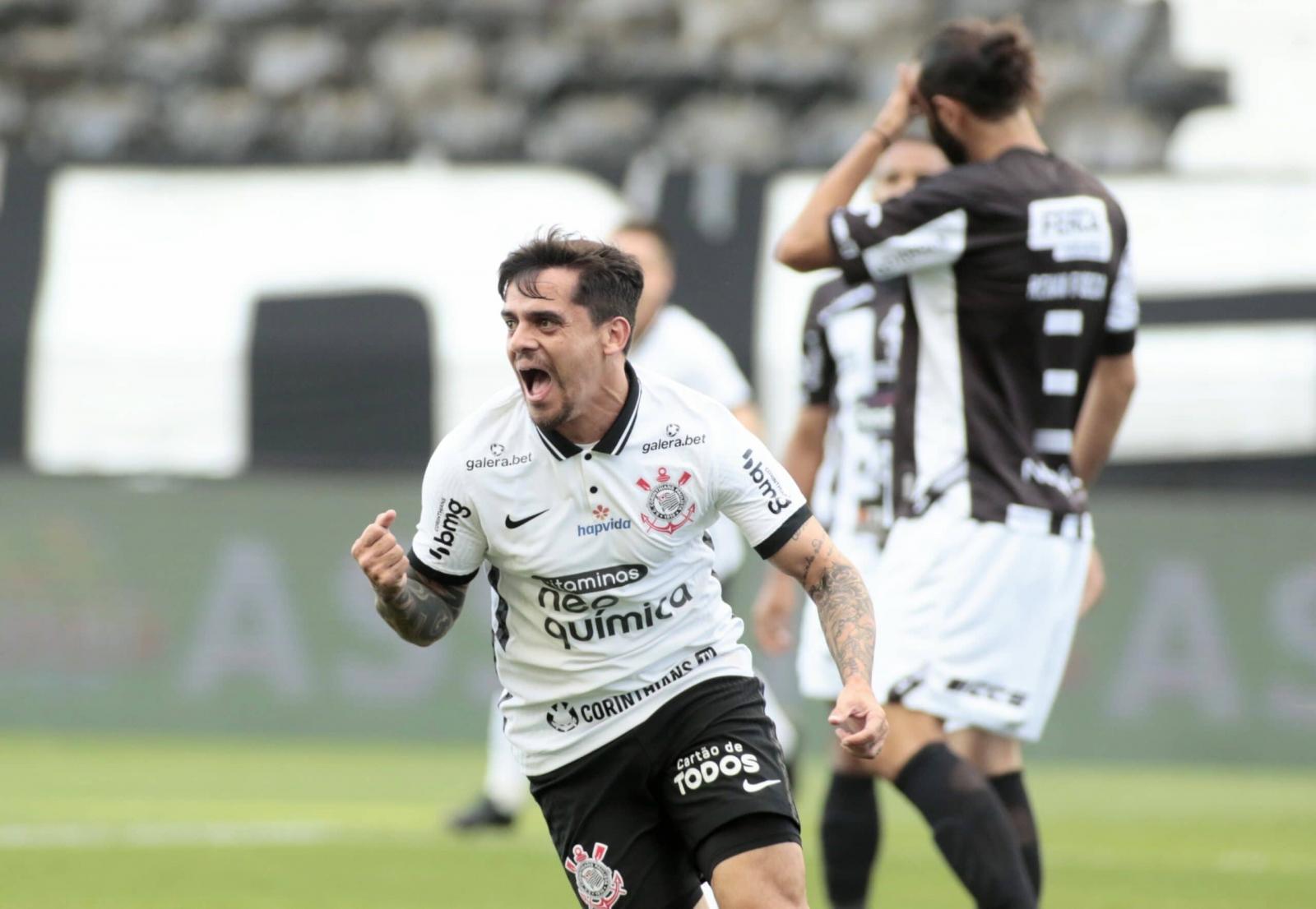 Com gols de zagueiros, Corinthians goleia Inter de Limeira e vai à semifinal