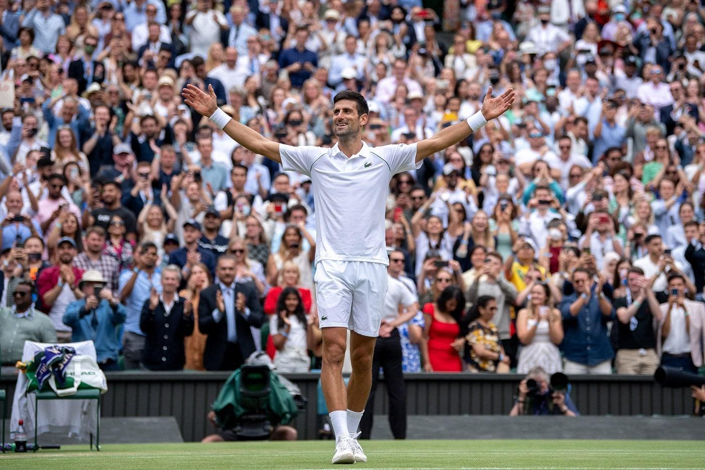 Djokovic ganha Wimbledon pela 7ª vez e iguala recorde de títulos em Grand Slans