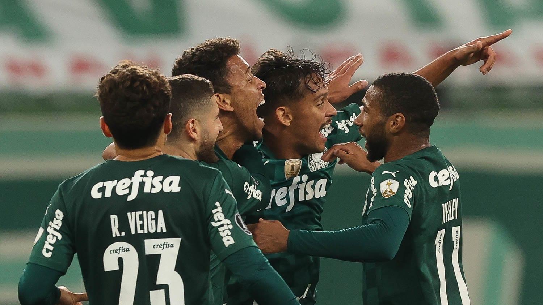 Palmeiras avança e enfrentará São Paulo nas quartas da Libertadores