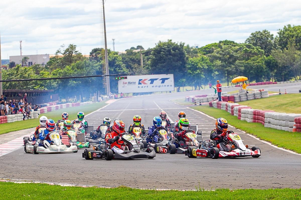 Copa F-Racers de Kart realiza sua 5ª etapa em Paulínia