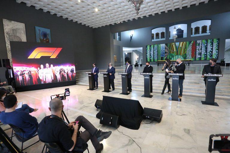 Doria revela 'sprint race' no GP São Paulo e convida Bolsonaro para prova de F-1