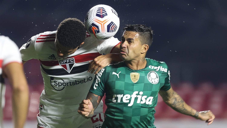São Paulo e Palmeiras ficam no empate no Morumbi pelas quartas da Libertadores