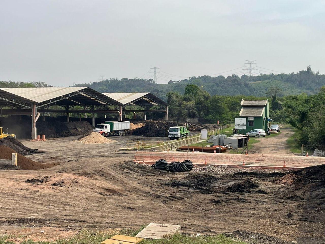 Em Jundiaí, lodo de esgoto é transformado em fertilizante e empregado na agricultura