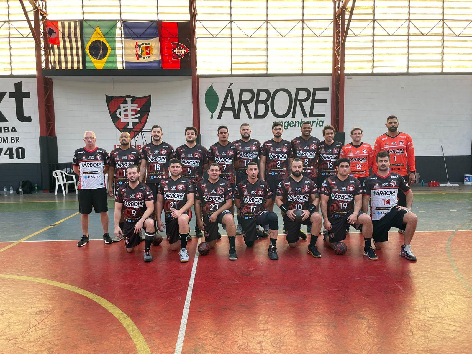 Handebol masculino estréia neste domingo no Paulista contra Taubaté