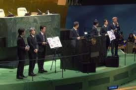 Músicos do BTS fazem discurso na Assembleia Geral da ONU