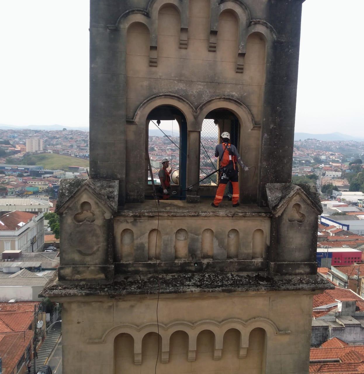 Padre Marcelo pede apoio para a restauração da Igreja do Rosário