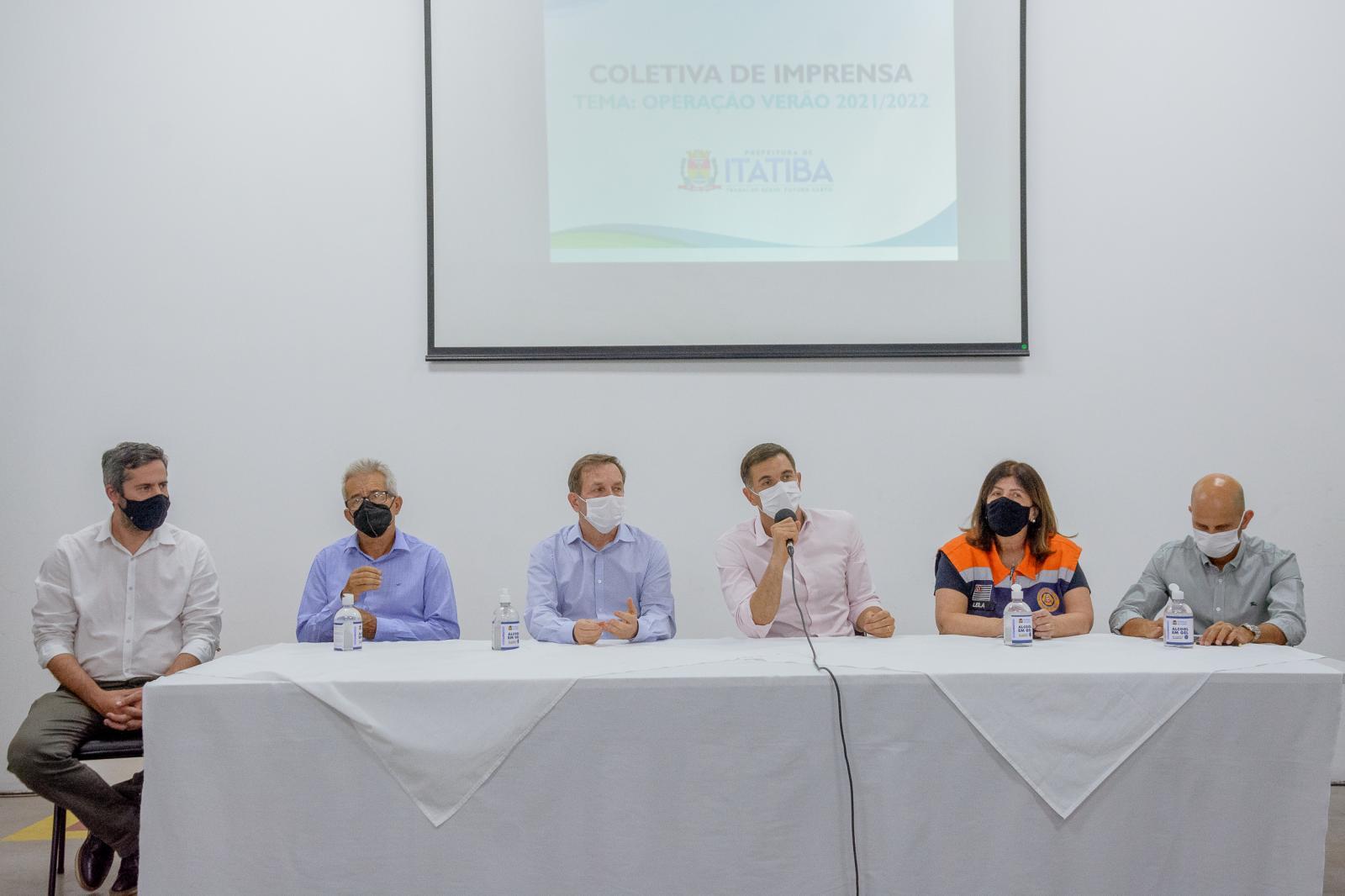 Prefeitura de Itatiba lança projeto para prevenir enchentes