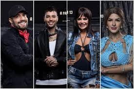 'A Fazenda 13': Arcrebiano, Gui Araújo, Valentina e Lary Bottino estão na roça