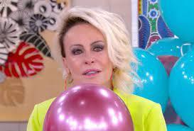 Ana Maria Braga lembra de Tom Veiga e chora no aniversário do 'Mais Você'
